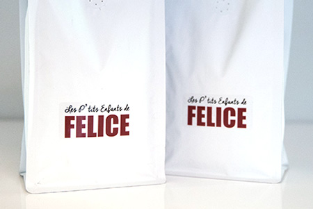 Les p'tits enfants de Felice coffee bags for sale